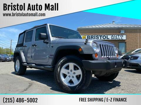 2013 Jeep Wrangler Unlimited for sale at Bristol Auto Mall in Levittown PA