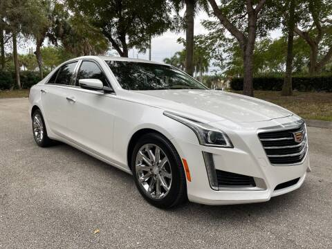 2015 Cadillac CTS for sale at DELRAY AUTO MALL in Delray Beach FL