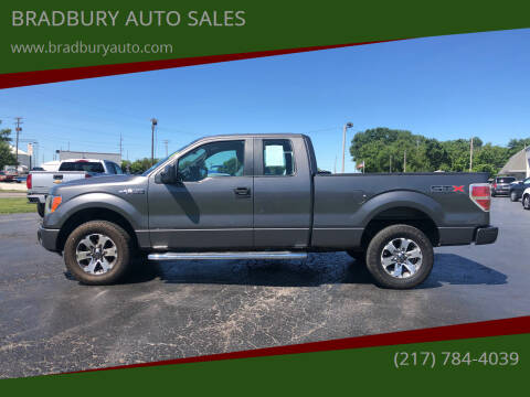 2013 Ford F-150 for sale at BRADBURY AUTO SALES in Gibson City IL