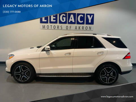 2014 Mercedes-Benz M-Class for sale at LEGACY MOTORS OF AKRON in Akron OH