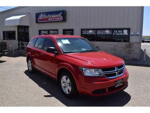 2013 Dodge Journey for sale at Chaparral Motors in Lubbock TX