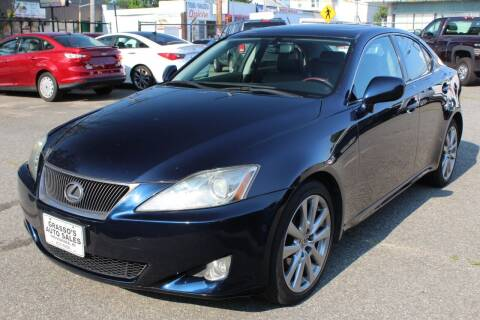 2006 Lexus IS 250 for sale at Grasso's Auto Sales in Providence RI