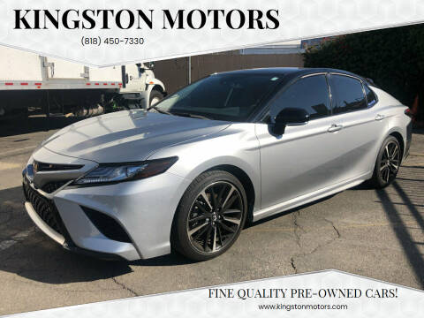2019 Toyota Camry for sale at Kingston Motors in North Hollywood CA