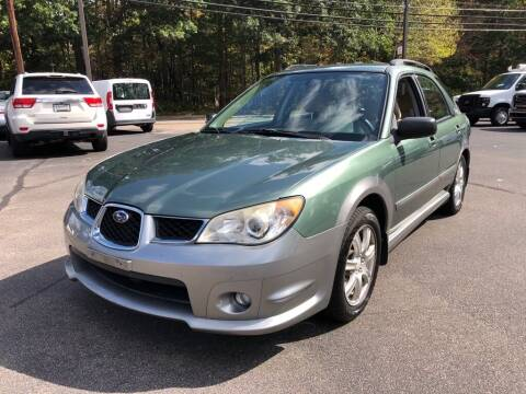 2007 Subaru Impreza for sale at KINGSTON AUTO SALES in Wakefield RI