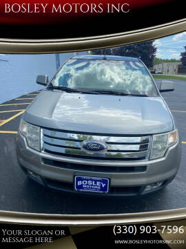 2008 Ford Edge for sale at BOSLEY MOTORS INC in Tallmadge OH
