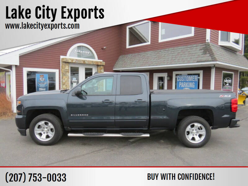 2017 Chevrolet Silverado 1500 for sale at Lake City Exports in Auburn ME