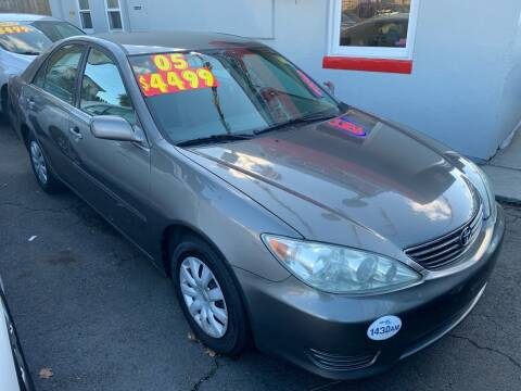 2005 Toyota Camry for sale at Metro Auto Exchange 2 in Linden NJ