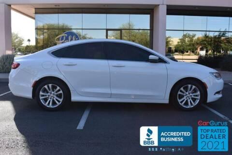 2015 Chrysler 200 for sale at GOLDIES MOTORS in Phoenix AZ