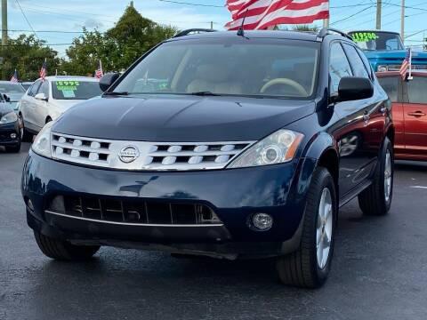 2005 Nissan Murano for sale at KD's Auto Sales in Pompano Beach FL