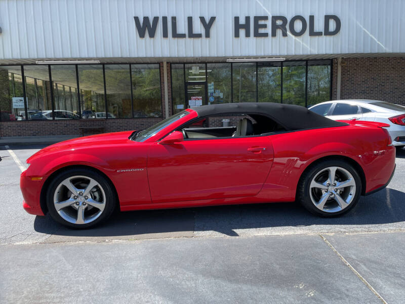 2015 Chevrolet Camaro for sale at Willy Herold Automotive in Columbus GA