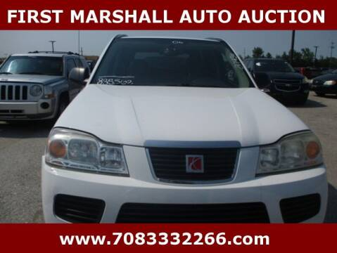 2006 Saturn Vue for sale at First Marshall Auto Auction in Harvey IL