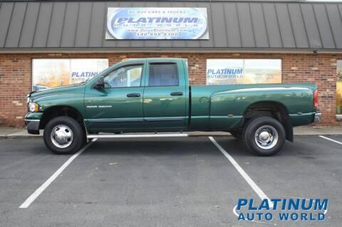 2003 Dodge Ram Pickup 3500 for sale at Platinum Auto World in Fredericksburg VA