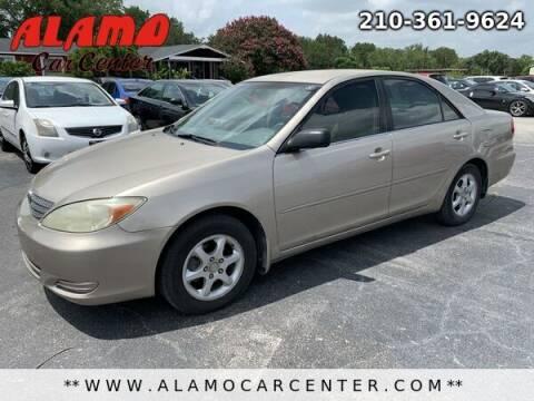2002 Toyota Camry for sale at Alamo Car Center in San Antonio TX