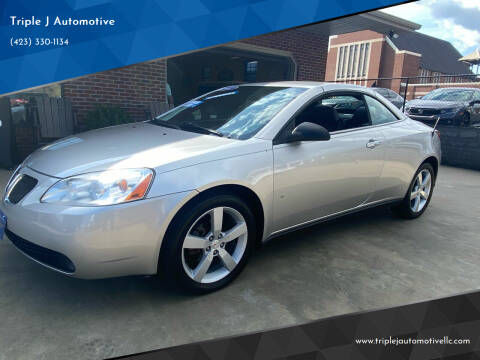 2007 Pontiac G6 for sale at Triple J Automotive in Erwin TN