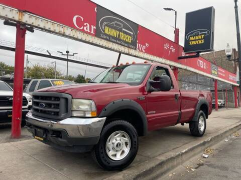 2002 Ford F-250 Super Duty for sale at Manny Trucks in Chicago IL