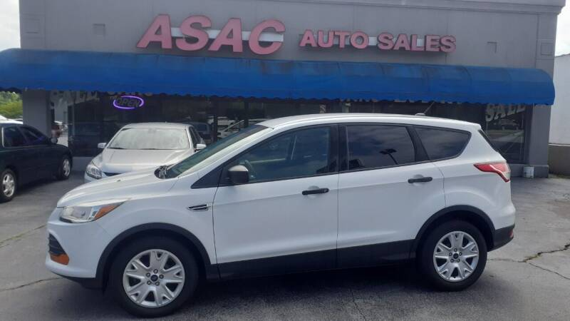 2015 Ford Escape for sale at ASAC Auto Sales in Clarksville TN