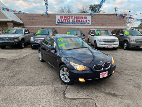 2010 BMW 5 Series for sale at Brothers Auto Group in Youngstown OH