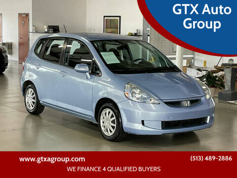2008 Honda Fit for sale at GTX Auto Group in West Chester OH