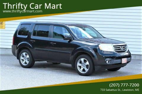 2013 Honda Pilot for sale at Thrifty Car Mart in Lewiston ME