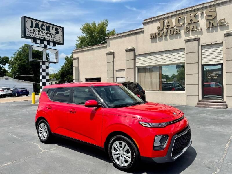 2020 Kia Soul for sale at JACK'S MOTOR COMPANY in Van Buren AR