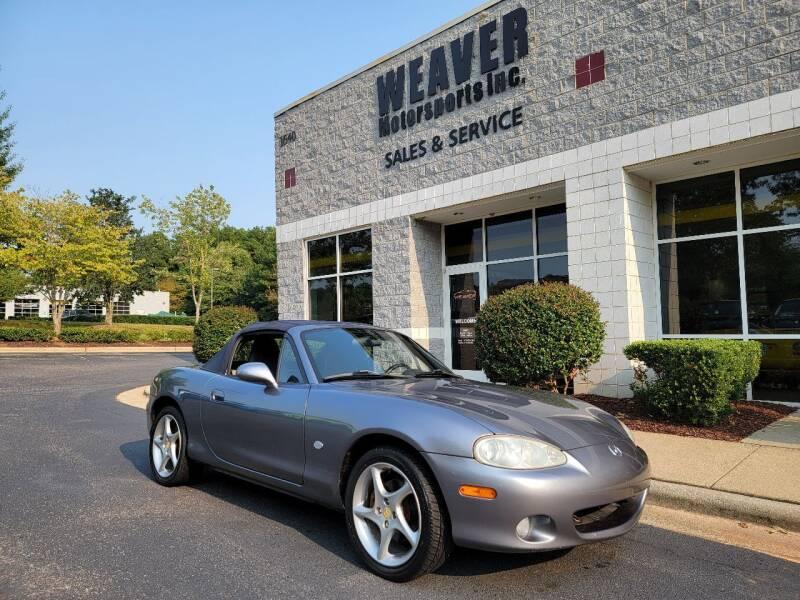 2003 Mazda MX-5 Miata for sale at Weaver Motorsports Inc in Cary NC