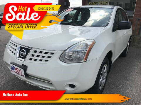 2009 Nissan Rogue for sale at Nations Auto Inc. in Denver CO