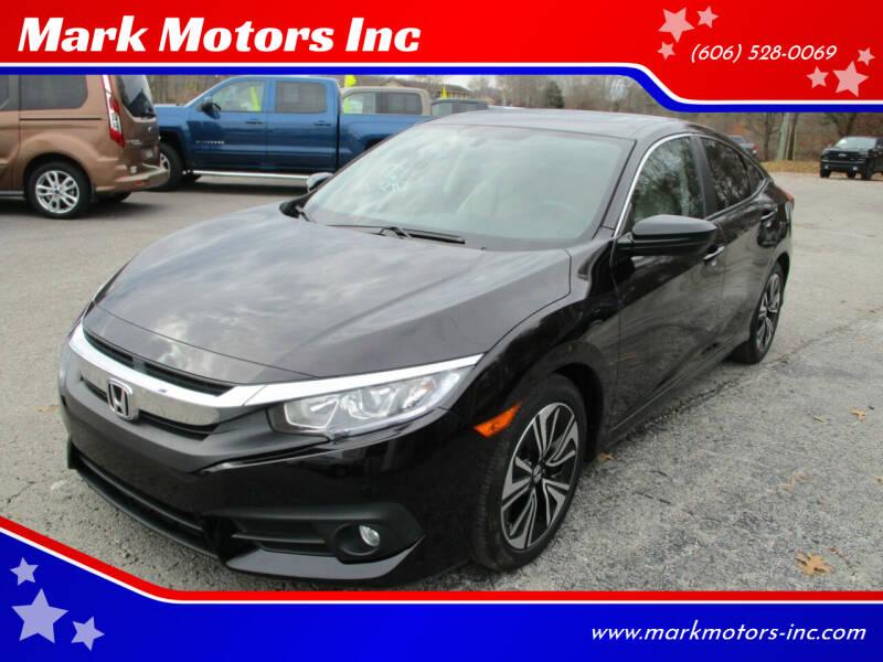 2016 Honda Civic for sale at Mark Motors Inc in Gray KY