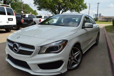 2014 Mercedes-Benz CLA for sale at E-Auto Groups in Dallas TX