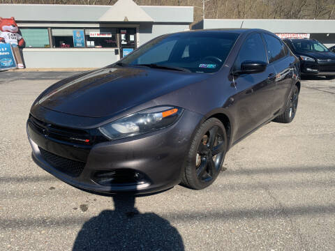 2015 Dodge Dart for sale at B & P Motors LTD in Glenshaw PA