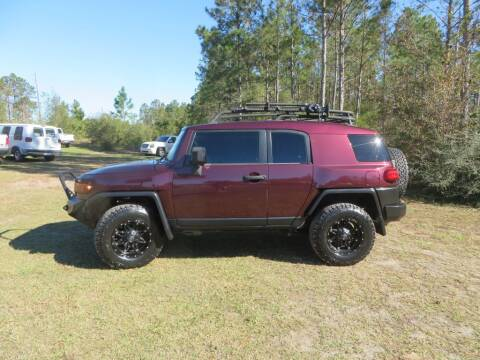 2007 Toyota FJ Cruiser for sale at Ward's Motorsports in Pensacola FL