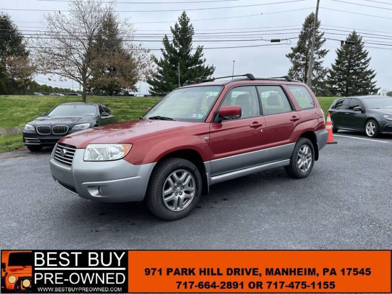 2008 Subaru Forester for sale at Best Buy Pre-Owned in Manheim PA