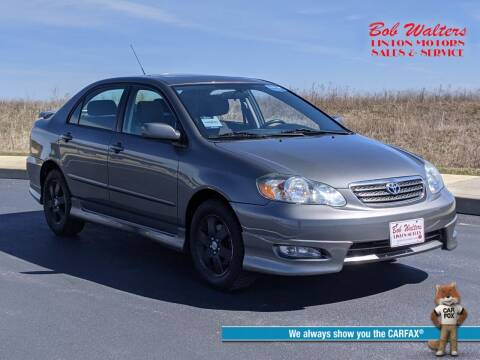 2008 Toyota Corolla for sale at Bob Walters Linton Motors in Linton IN