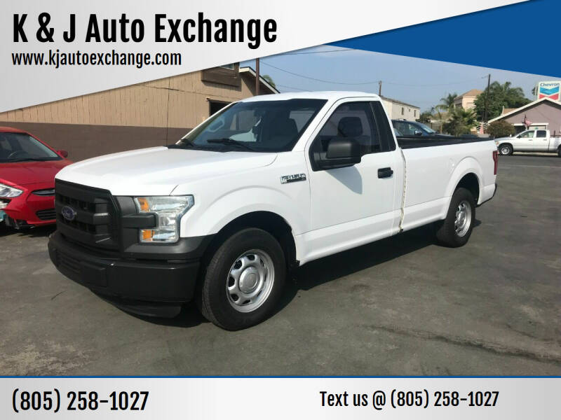 2016 Ford F-150 for sale at K & J Auto Exchange in Santa Paula CA
