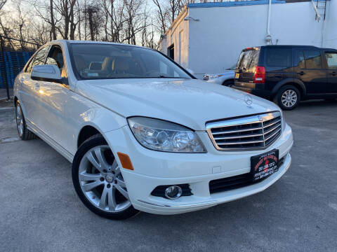 2008 Mercedes-Benz C-Class for sale at JerseyMotorsInc.com in Teterboro NJ