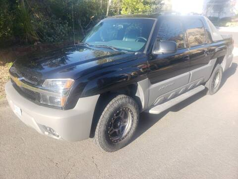2002 Chevrolet Avalanche for sale at KC Cars Inc. in Portland OR