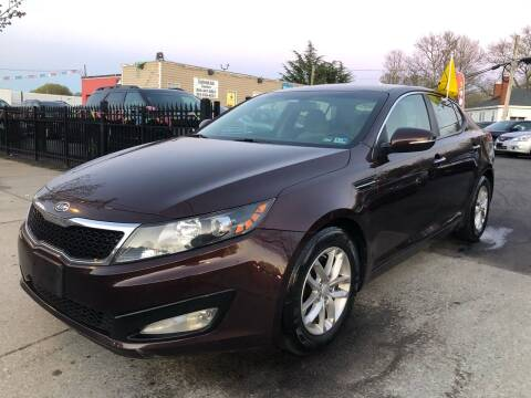 2012 Kia Optima for sale at Crestwood Auto Center in Richmond VA
