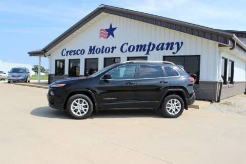 2016 Jeep Cherokee for sale at Cresco Motor Company in Cresco IA