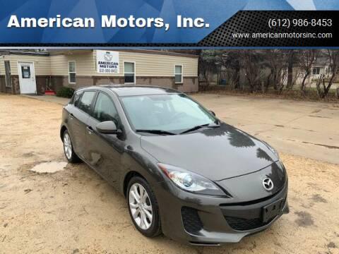2012 Mazda MAZDA3 for sale at American Motors, Inc. in Farmington MN
