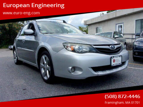 2011 Subaru Impreza for sale at European Engineering in Framingham MA