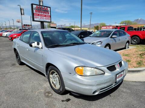 2005 Pontiac Grand Am for sale at ATLAS MOTORS INC in Salt Lake City UT