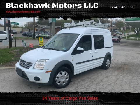 2013 Ford Transit Connect for sale at Blackhawk Motors LLC in Beaver Falls PA