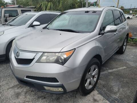 2011 Acura MDX for sale at Castle Used Cars in Jacksonville FL