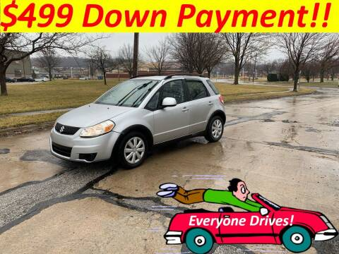 2010 Suzuki SX4 Crossover for sale at World Automotive in Euclid OH