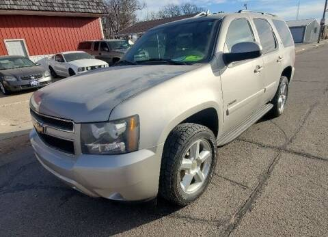 2007 Chevrolet Tahoe for sale at Tyser Auto Sales in Dorchester NE