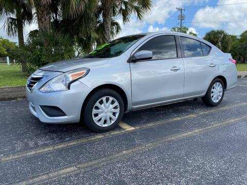 2018 Nissan Versa for sale at Lamberti Auto Collection in Plantation FL
