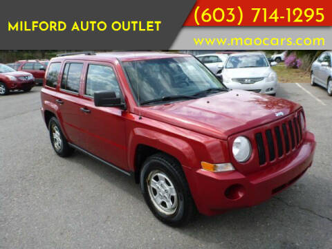 2008 Jeep Patriot for sale at Milford Auto Outlet in Milford NH