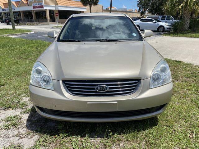 2007 Kia Optima for sale at Palm Bay Motors in Palm Bay FL