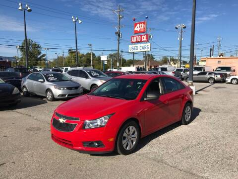 2014 Chevrolet Cruze for sale at 4th Street Auto in Louisville KY