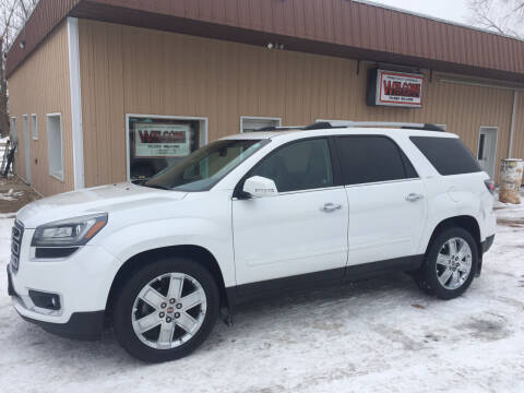2017 GMC Acadia Limited for sale at Palmer Welcome Auto in New Prague MN