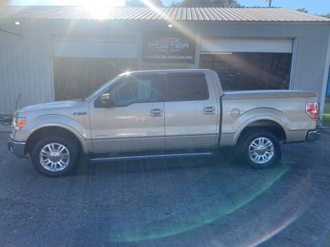 2012 Ford F-150 for sale at Jack Foster Used Cars LLC in Honea Path SC